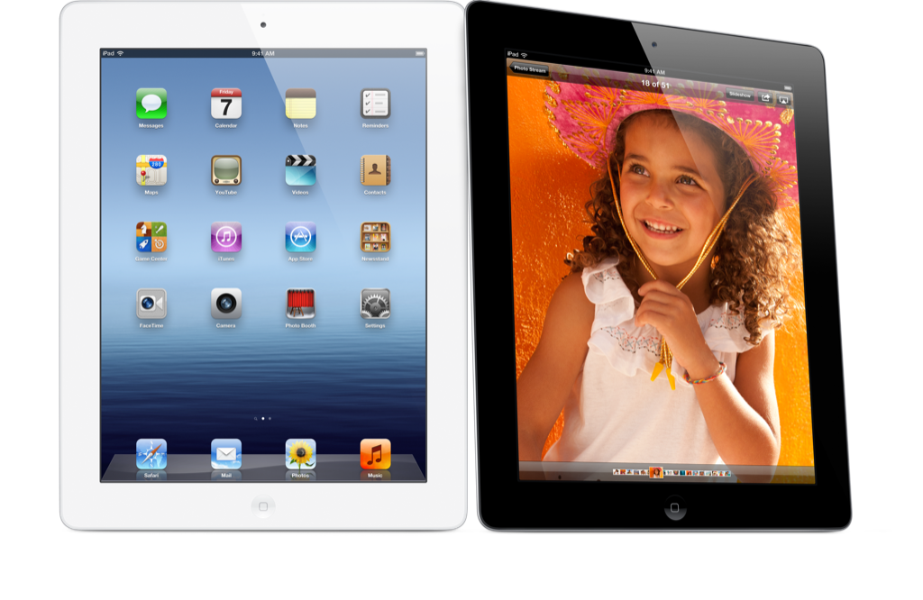 The New iPad and iPad mini           In Stock!