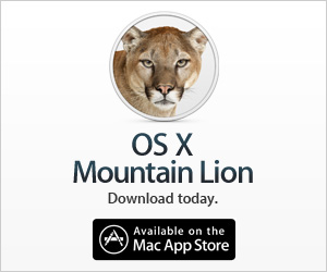 OS X Mountain Lion is here.